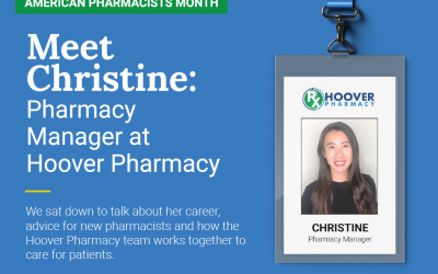Meet Christine: Pharmacy Manager at Hoover Pharmacy